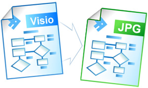 Convert Visio to JPEG