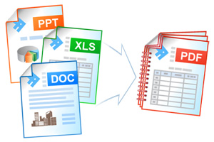 Combine documents to PDF