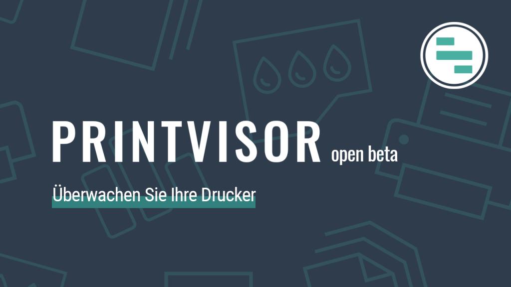 PrintVisor – Neue Drucker-Monitoring-Software von fCoder